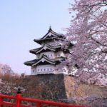 弘前桜祭り2017!開花と満開予想、見頃時期は?日程や出店情報も!
