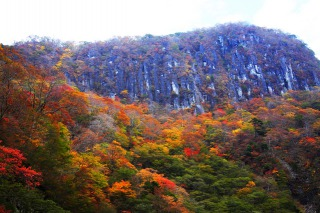 日光いろは坂の紅葉、絶景ポイントからの眺め