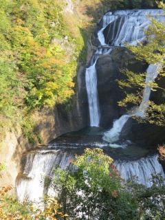 袋田の滝、別名四度の滝とも呼ばれています