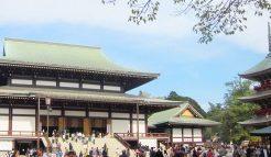 成田山新勝寺大本堂と五重塔
