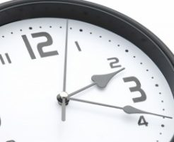 今時計は2時20分。面接の10分前です